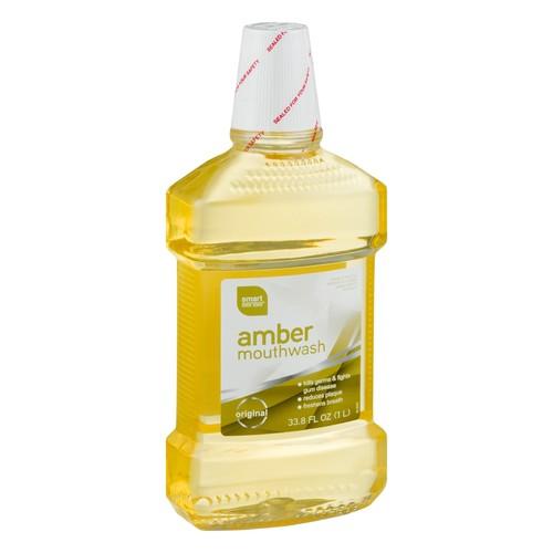 Smart Sense Amber Mouthwash 33.8 FL OZ
