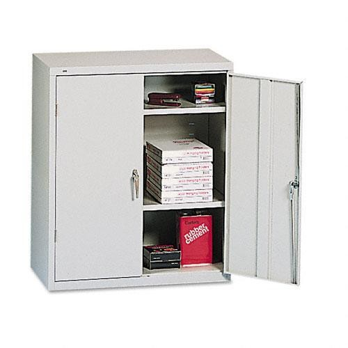 HON Assembled 42-Inch High Two-Door Storage Cabinet