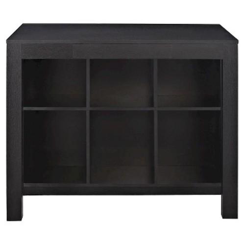 Parsons Desk with Cubbies - Black - Altra