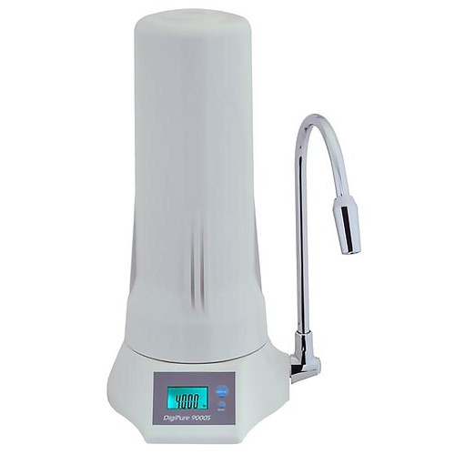 Anchor USA 5-Stage Counter Top Filtration System with LCD Display in White