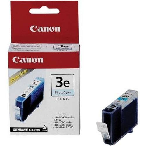 Canon BCI-3EPC photo Cyan Ink Tank 4483A003