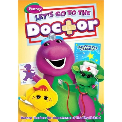 Barney: Let's Go to the Doctor (DVD)