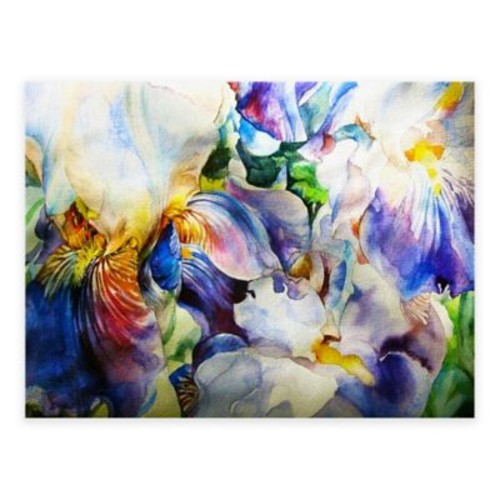 Floral Harmony All-Weather Outdoor Canvas Wall Art