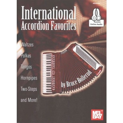 International Accordion Favorites : Waltzes, Polkas, Tangos, Hornpipes, Two-Steps and More! (Paperback)