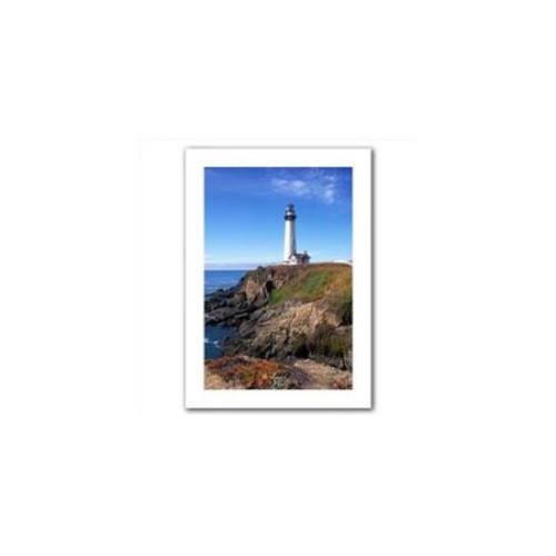 Artwal Kathy Yates Pigeon Point Lighthouse 2 Unwrapped Canvas Art, 16 x 24 Inch