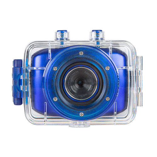 Vivitar DVR783HD-BLU DVR 783HD ActionCam - Blue