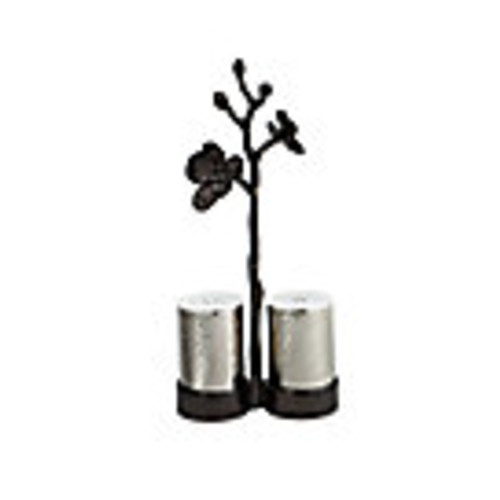 Black Orchid Salt & Pepper Set