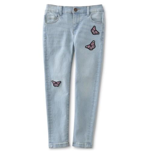 Toughskins Infant & Toddler Girls' Embellished Jeans - Butterfly [Age : Infant]