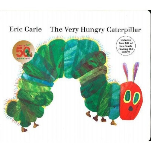 The Very Hungry Caterpillar by Eric Carle (Board Book with CD) by Eric Carle