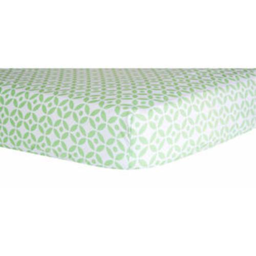 Trend Lab 100706 Lauren Lattice Crib Sheet, Assorted