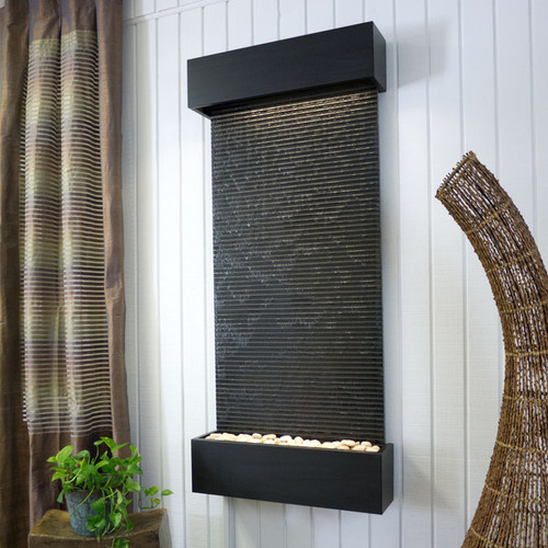 Black Granite Nojoqui Falls Classic Large with Black Onxy Trim
