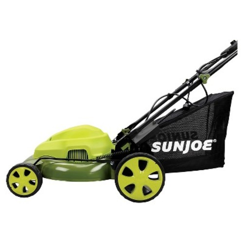 Sun Joe 20-Inch 12-Amp Electric Lawn Mower- Green