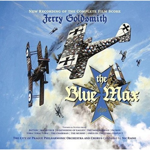 The Blue Max: 50th Anniversary Recording of the Complete Film Score [CD]