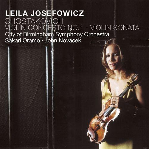 Shostakovich: Violin Concerto No.1; Violin Sonata [CD]