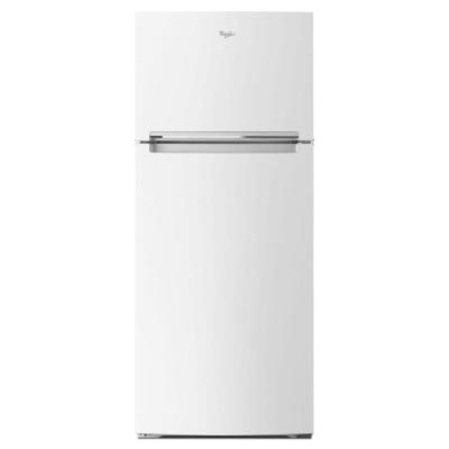 Whirlpool 28 in. W 17.6 cu. ft. Top Freezer Refrigerator in White