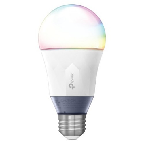TP-Link Multicolor Smart Wi-Fi LED Bulb, Dimmable, Tunable White, No Hub Required, 60W Equivalent, Works with Amazon Alexa and Google Assistant, 1-Pack (LB130)