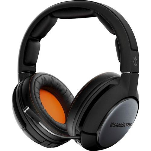 SteelSeries - Siberia 840 Wireless Dolby Virtual 7.1 Surround Sound Gaming Headset for PC/Mac, PS 4, Xbox One and Nintendo Switch - Black