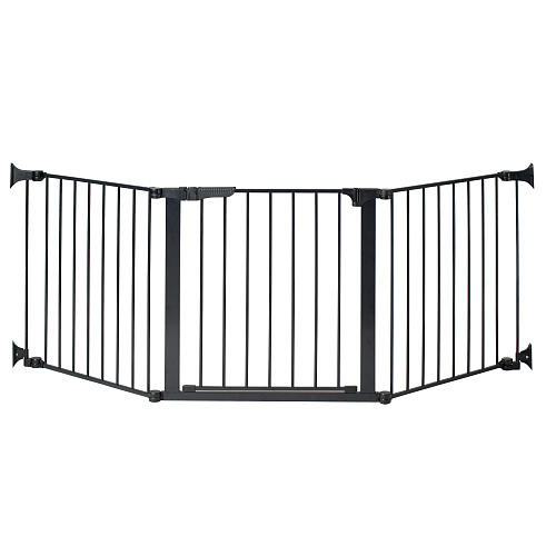 KidCo 84 inch Auto Close Configure Gate - Black