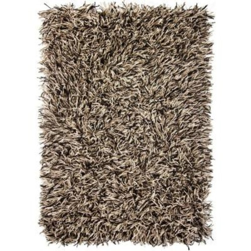 Chandra Cyrah Black/Taupe/Ivory 9 ft. x 13 ft. Indoor Area Rug
