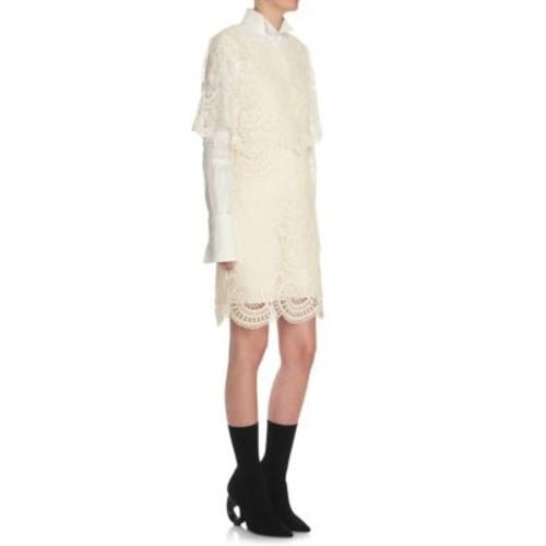 BURBERRY Lace Shift Dress
