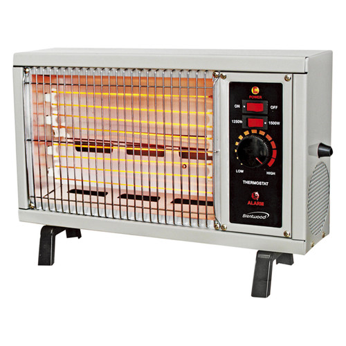 Brentwood 97097880M 1250W + 1500 Watts Radiant Heater