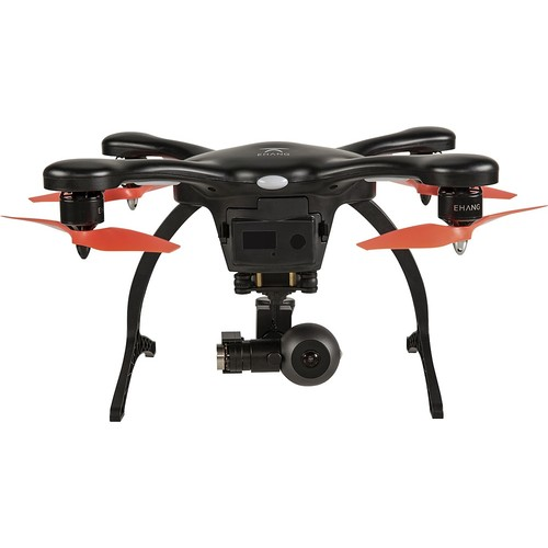 EHANG - Ghostdrone 2.0 VR Drone (Android Compatible) - Black/Orange