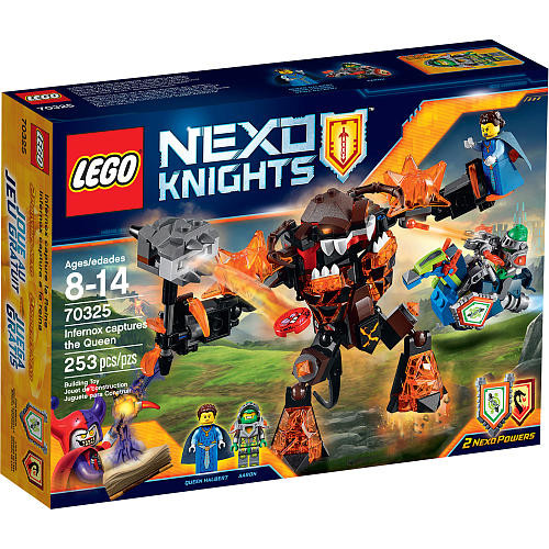 LEGO Nexo Knights Infernox Captures The Queen (70325)