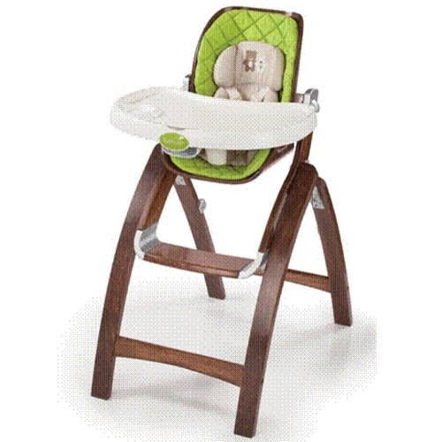 Summer Infant Bentwood High Chair in Cranberry