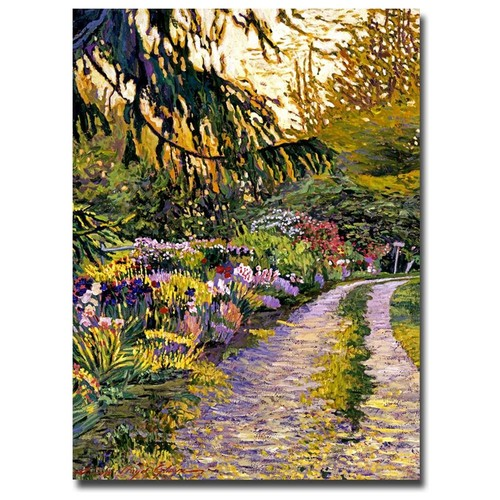 David Lloyd Glover 'Sunset Road Impressions' Canvas Art