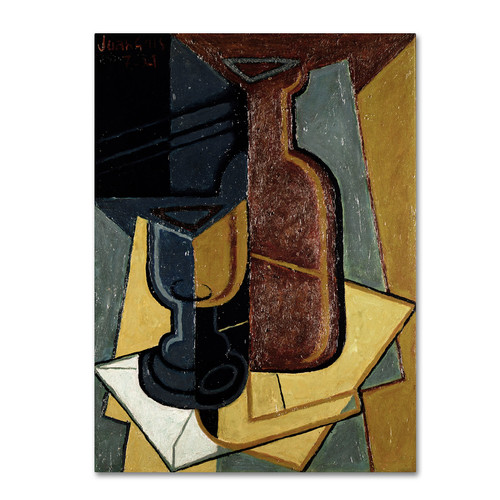 Trademark Global Bridgeman Art Library 'Abstract I' Canvas Art [Overall Dimensions : 26x32]
