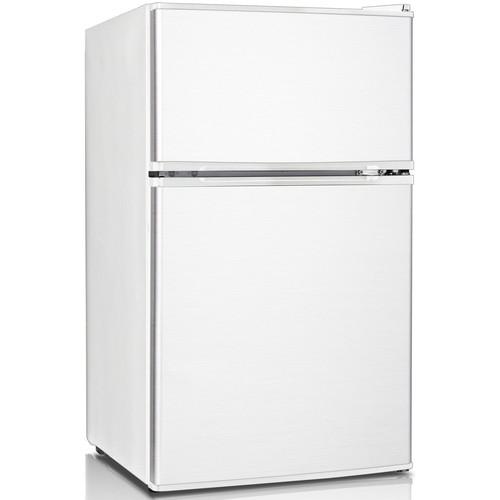 Keystone KSTRC312BW 3.1 Cu. Ft. Compact 2-Door Refrigerator/Freezer - White