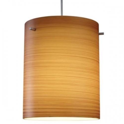 Regal 120 w Brown Texture Glass (Matte Chrome GU24 Compact Fluorescent)