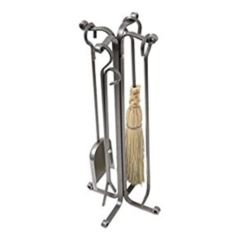 Enclume Country Home 4 Piece Fireplace Tool Set