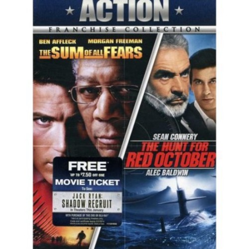 The Hunt For Red October / The Sum Of All Fears (Widescreen)