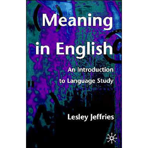 Meaning In English / Edition 1