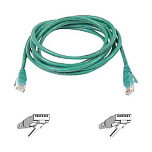 Belkin A3L980-25-GRN-S 25' High-performance Cat 6 Cable