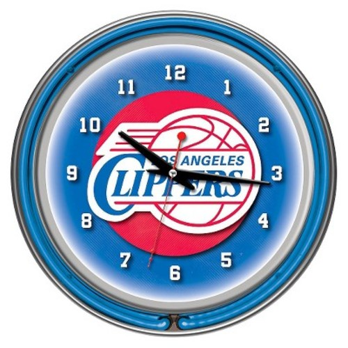 Los Angeles Clippers Team Logo Wall Clock
