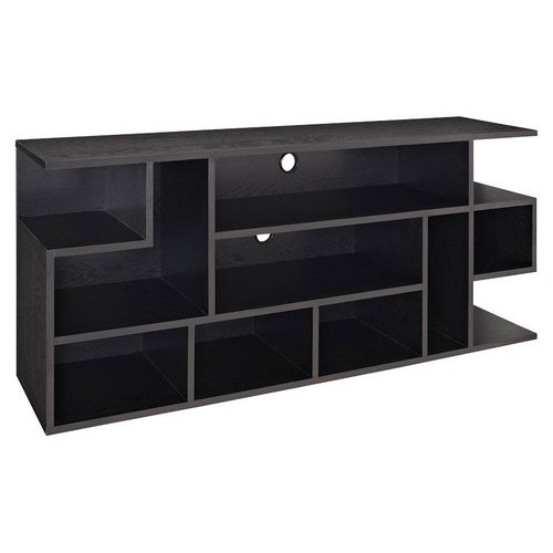 Walker Edison - Mod Style TV Stand for Most Flat-Panel TVs Up to 65