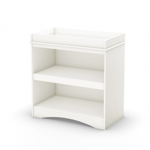 Peek-a-boo Changing Table - Finish: Pure White