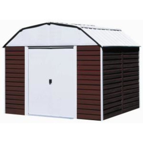 Arrow Red Barn 10 ft. x 8 ft. Metal Storage Building