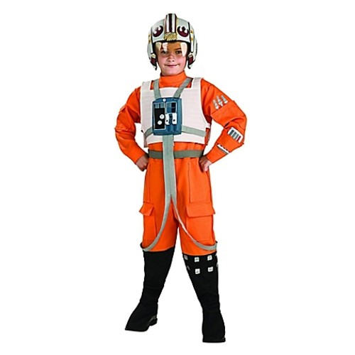 Star Wars Clone Wars X-Wing Fighter Pilot Large Child's Halloween Costume