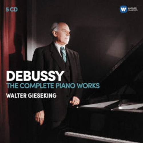 Debussy: The Complete Piano Works [5 CDs Warner Classics]