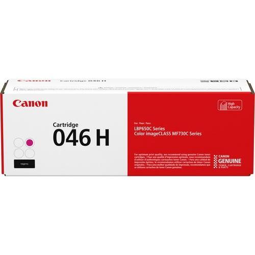 Canon - 046 H High-Yield Toner Cartridge - Magenta