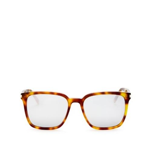 SAINT LAURENT Mirrored Oversized Square Sunglasses, 52Mm