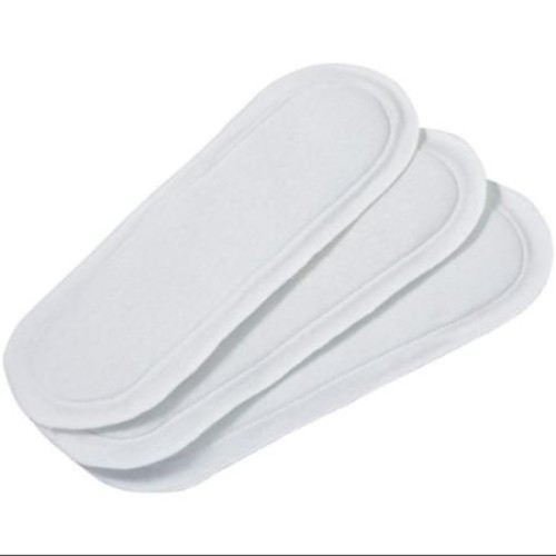 Extra Long Reusable Incontinence Pads, Set of 3