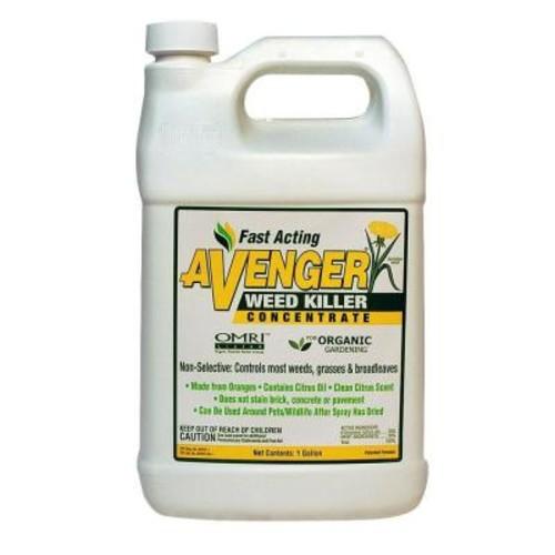 Avenger Weed Killer 128 oz. Organic Weed Killer Herbicide Concentrated