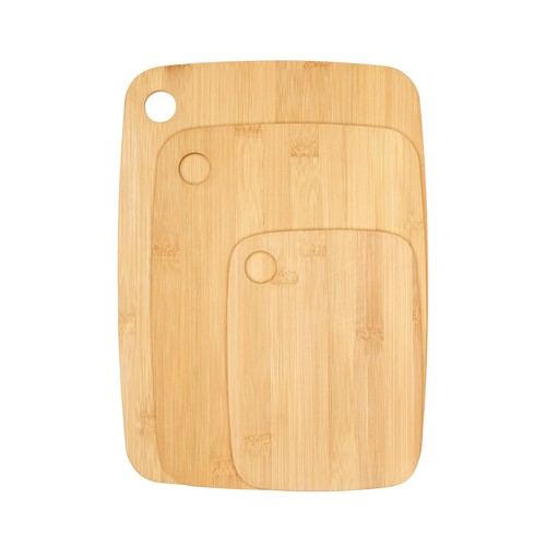 Bamboo Cutting Board 3-Piece Set