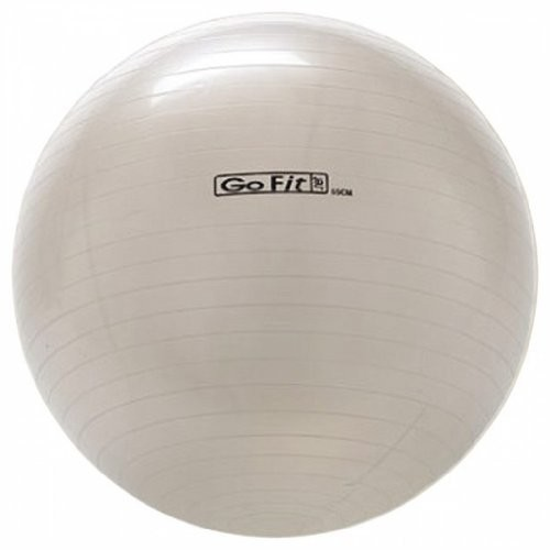 Gofit Exercise Ball With Pump (65 Cm White)