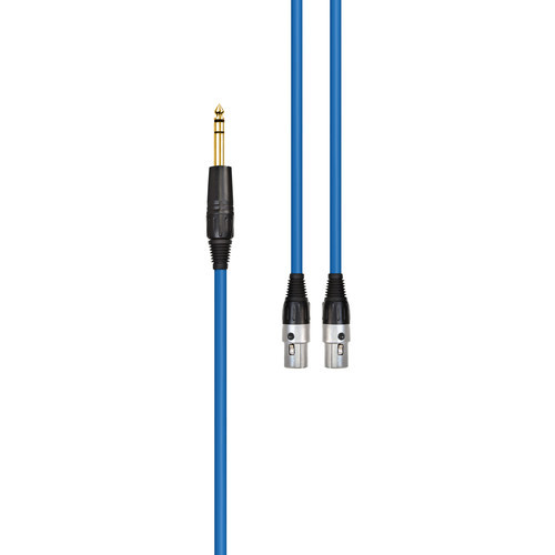 AUDEZE 2.4m/7.87' LCD Headphone Cable, Blue CBL-BL-1030