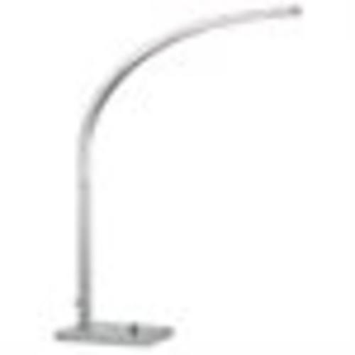 Adesso Sonic 8 W LED Desk Lamp, Satin Steel